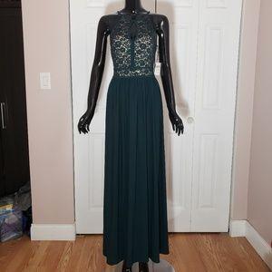 NWT Nightway Elegant Lace & Glittery Dress